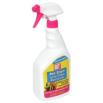 Out Pet Short Spray Bottle Stain and Odor Remover