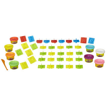 Hasbro Play Doh Number Letters and Fun