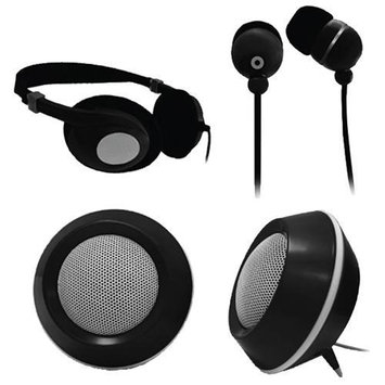 Craig On-Ear Headphones Combo Pack