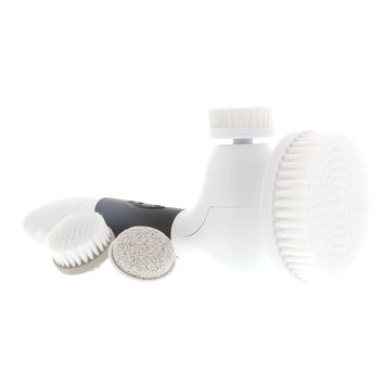 Spin for Perfect Skin Facial Cleansing Brush- Black