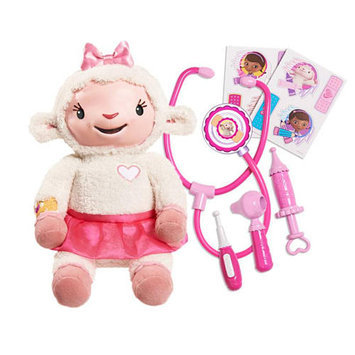 Disney Junior Doc McStuffins Take Care of Me Lambie
