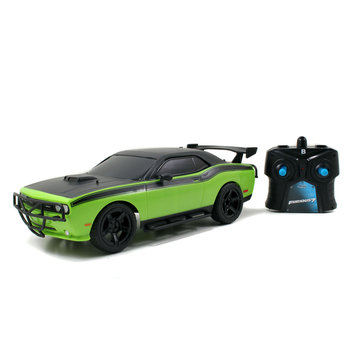 Jada Toys Fast & Furious 1:16 Scale Remote Control - 2012 Dodge Challenger