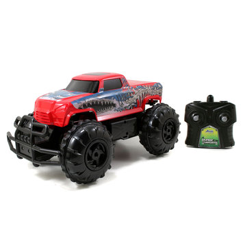 Jada Toys HyperChargers Water & Land Remote Control Vehicle - Red