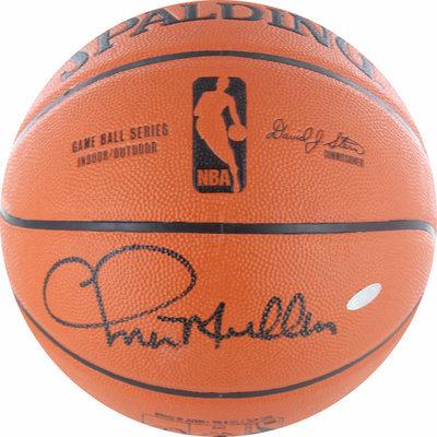Steiner Sports Chris Mullin Autographed Indoor Outdoor Basketball