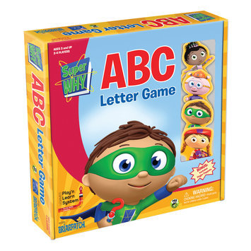 University Games SuperWhy ABC Game