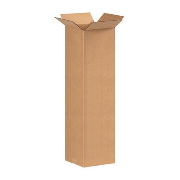 Uboxes Llc 3 Tall Lamp Moving Boxes for packing your lamps up to 12 x 12 x60