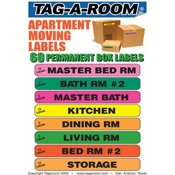 Uboxes Llc Apartment Moving Labels Identify box contents with 60 labels