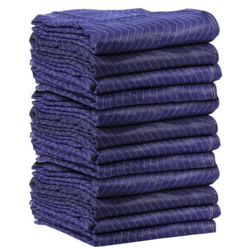 Uboxes Llc 72 Economy Moving Blanket 72x80 43# Professional Quilted