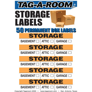 Uboxes Llc Storage Moving Labels Identify box contents with 50 labels
