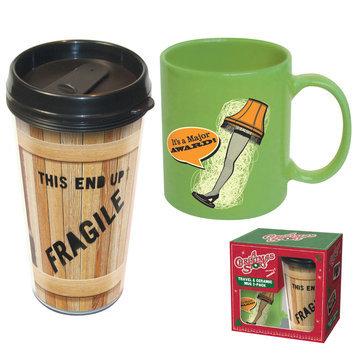 Icup A Christmas Story Travel Mug and Ceramic Mug 2-Pack
