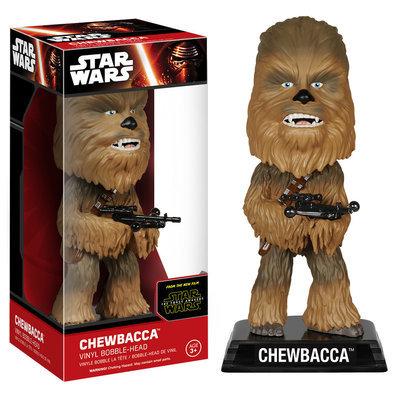 Funko Star Wars Force Awakens Wacky Wobbler Chewbacca Bobble Head Figure