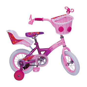 Street Flyers Girls' 12 Inch Lalaloopsy Bike with Silly Hair Streamers