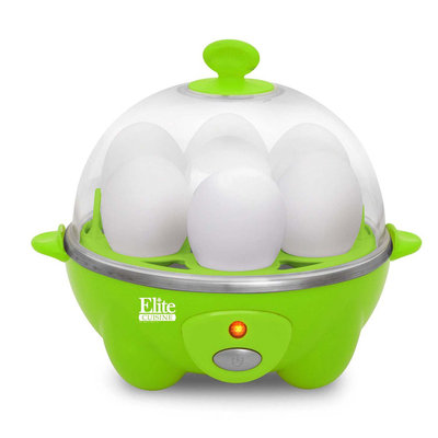 Elite By Maxi-matic Elite Cuisine Automatic Easy Egg Cooker (Green)