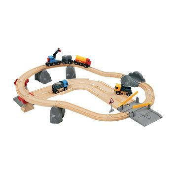 BRIO Rail and Road Loading Set by BRIO