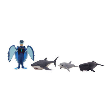 Wicked Cool Toys Wild Kratts Deluxe Action Figure Set - Smashing Zach-Bot Set