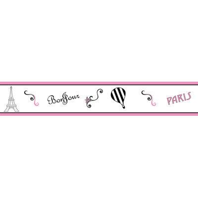 Sweet Jojo Designs Paris Collection Wallpaper Border