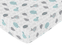 Sweet Jojo Designs Earth and Sky Fitted Crib Sheet