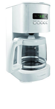 Kenmore White 12 Cup Programmable Coffee Maker - Kenmore