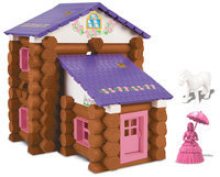 K'nex Lincoln Log Country Meadow Cottage