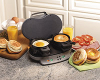 Recertifed Hamilton Beach Dual Breakfast Sandwich Maker (Refurbished)