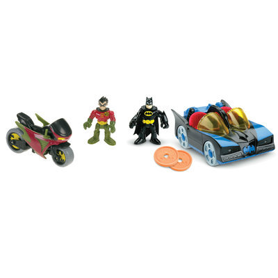 Fisher Price Imaginext DC Super Friends Batman & Robin Set by Fisher-Price