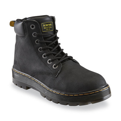 Men's Winch St. Black Steel Toe Work Boot