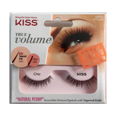 Kiss True Volume Natural Plump Eyelashes, Chic