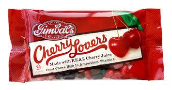Gimbal's Cherry Lovers Fruit Chews Candy, 9 oz