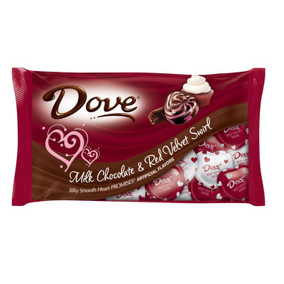 Dove Chocolate Valentine Red Velvet Flavor