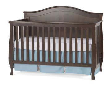 Foundations Worldwide Child Craft Camden 4-in-1 Lifetime Convertible Slate Crib