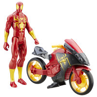 Marvel Ultimate Spider-Man vs. The Sinister Six: Titan Hero Series Iron Spider with Repulsor Cycle