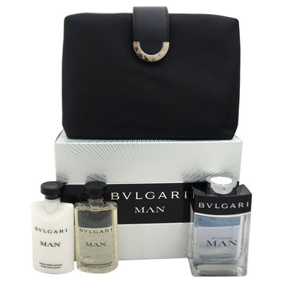 Bvlgari Man 4 Piece Set-NO COLOUR-One Size
