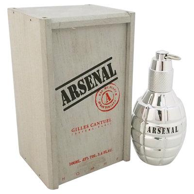 Arsenal Platinum by Gilles Cantuel for Men - 3.4 oz EDP Spray
