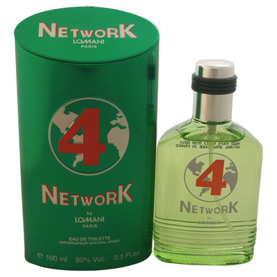 Lomani Network 4 Men's 3.3-ounce Eau de Toilette Spray