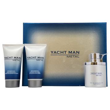 Myrurgia 'Yacht Man Metal' Men's 3-piece Fragrance Gift Set