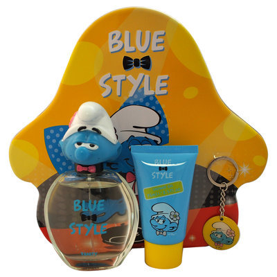 First American Brands The Smurfs Blue Style Vanity for Kids