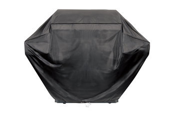 Grill Parts Pro Grill Tools 65 in. Vinyl Grill Cover Black 812-6091-S2
