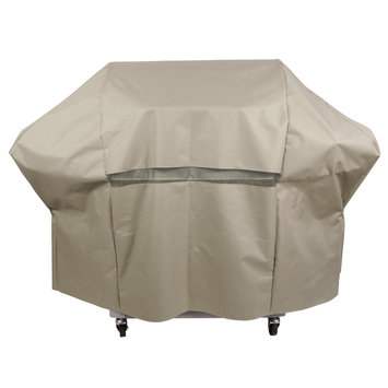 Grill Parts Pro Grill Tools 65 in. Tan Premium Grill Cover Brown 812-6098-S2