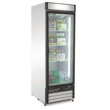 Maxx Cold Refrigeration and Ice Machines and Accessories X-Series 23 cu. ft. Single Door Merchandiser Refrigerator in White MXM1-23R
