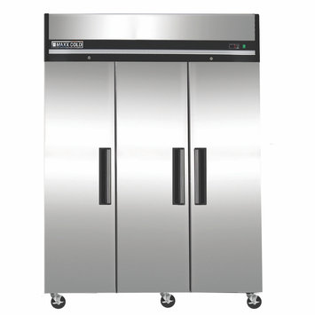 Maxx Cold 72 cu. ft. Stainless Steel Commercial Reach In Upright Freezer MXCF-72FD