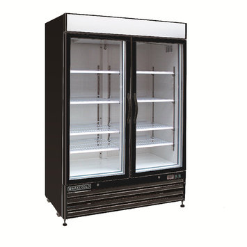 Maxx Cold 48-cu ft Frost-Free Commercial Upright Freezer (Black) MXM2-48FB