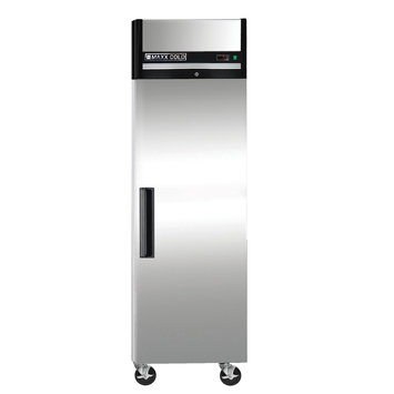 Maxx Cold X-Series 23 Cu. Ft. Reach in Upright Freezer in Stainless Steel MXCF-23FD