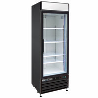 Maxx Cold 23-cu ft Frost-Free Commercial Upright Freezer (Black) MXM1-23FB