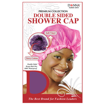 Donna Premium Collection Double Sided Shower Cap