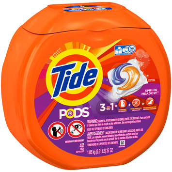 Procter & Gamble Tide Pods Spring Meadow Laundry Detergent Pacs - 42 Count
