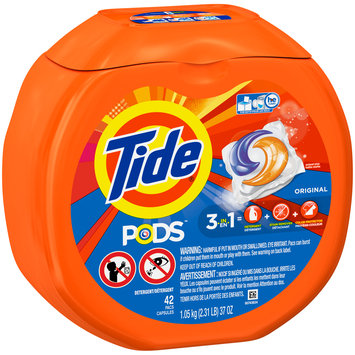 Procter & Gamble Tide Pods 42 count Original Laundry Detergent Pacs