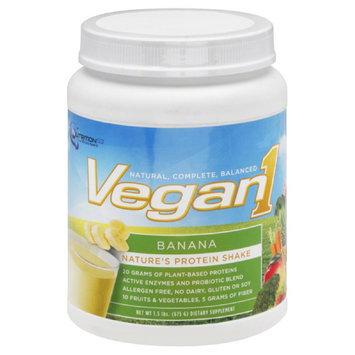 Nutrition53 Vegan1 Nature's Protein Shake, Banana, 1.5 lbs