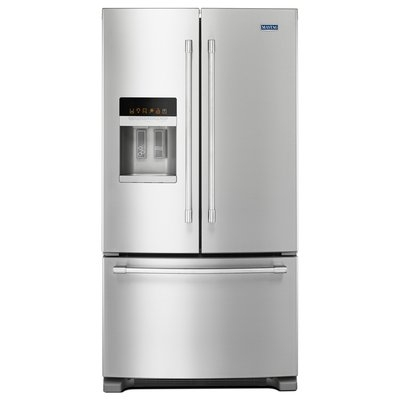 Maytag MFI2570FEZ 25.0 Cu. Ft. Fingerprint Resistant Stainless Steel French Door Refrigerator