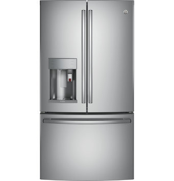 GE Profile Counter Depth Stainless Steel French-Door Refrigerator