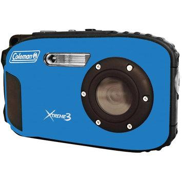 Coleman Xtreme3 C9WP Shock & Waterproof 1080p HD Digital Camera (Blue)